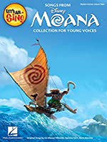 Let's All Sing Songs from Moana: Collection for Young Voices
