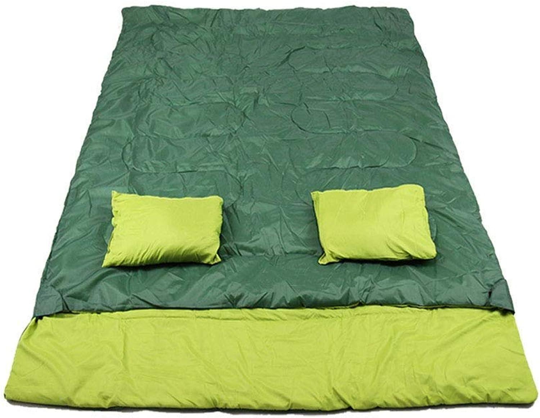 Anas Doppel-Schlafsack für Camping, Backpacking oder Wandern - Perfekter Schlafsack - Extra großer 3-Jahreszeiten-Wasserdichter Schlafsack für 2 Personen Erwachsene B07Q5DMHXP  Billig ideal