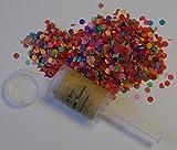 La gudn Confeti kanönle (6Unidades/Confetti de Push de Pop) para Cualquier ocasión (Boda, cumpleaños, Festiva y Otras Fiestas)