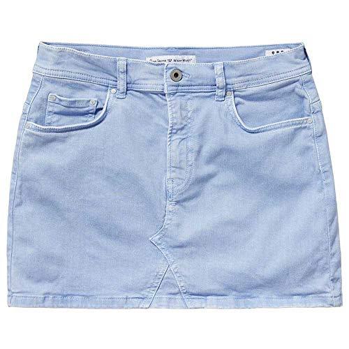 Pepe Jeans Falda Dani Azul Mujer