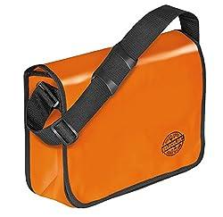 Veloflex 7000330 Shoulder Bag Velocolor Umhängetasche, Orange