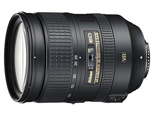 Nikon Nikkor Obiettivo AF-S 28-300MM F 3.5-5.6G ED VR, Nero [Nital Card: 4 Anni di Garanzia]