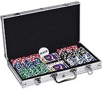 MasterPieces NFL Minnesota Vikings 300-Piece Poker Chip Set