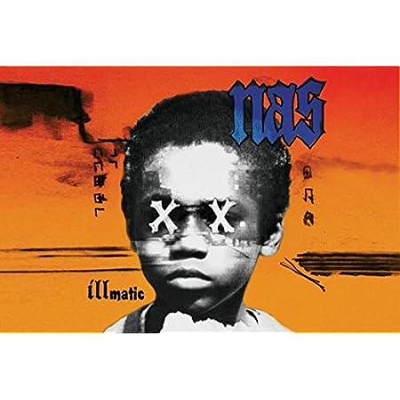 Poster Affiche Nas Rapper Rap Hip Hop Artist Photo Vintage Brooklyn