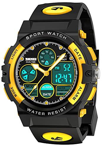 Let's sucher Kinder Uhren für Jungen, Armbanduhr Kinder 5-12 Jahre Mädchen Geschenk Kinder Digitaluhr Mädchen Spielzeug Ab 5-15 Jahre Kinder Armbanduhr Mädchen Weihnachten Geschenk für Kinder