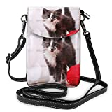 Gottoabag 財布 携帯ケース ワンショルダーバッグ ショルダーバッグ 哀れっぽい猫 軽量 斜めがけ 小さめ 斜め掛けバッグ ポケット付きバッグ 通勤 通学