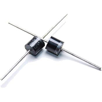 5x 10A10 Si-Gleichrichterdiode 1000V 10A Solar-Bypass//Blocking Dioden P1000M