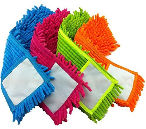 elegi Pack 4 Recambios Mopa Microfibra Chenilla 100 grs