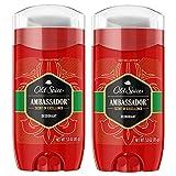 Old Spice Red Collection Deodorant for Men, Ambassador, 3 oz, 2 Pack