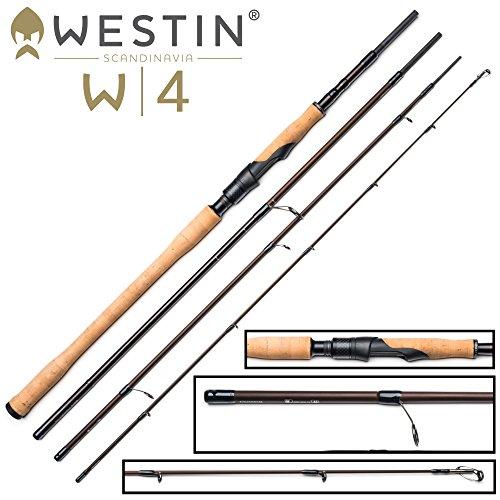Westin W4 Spin M 300cm 7-30g - Spinnrute zum Spinnfischen auf Zander, Barsch & Forelle, Angelrute zum Zanderangeln & Barschangeln