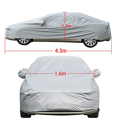 PREMIUM WATERPROOF CAR COVER HEAVYDUTY COTTON LINED VAUXHALL CORSA B