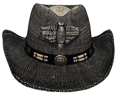MFH Chapeau de Paille Western Taille unifiée (Texas)