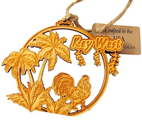Key West Ornament Handmade Wooden Florida Souvenir Christmas Tree Decoration