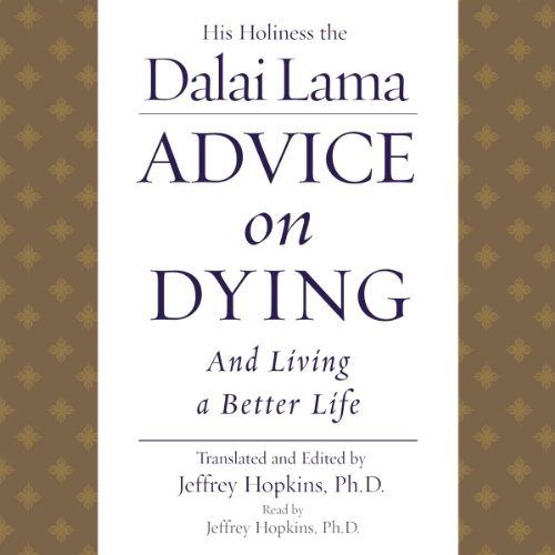 Advice on Dying audiobook cover art