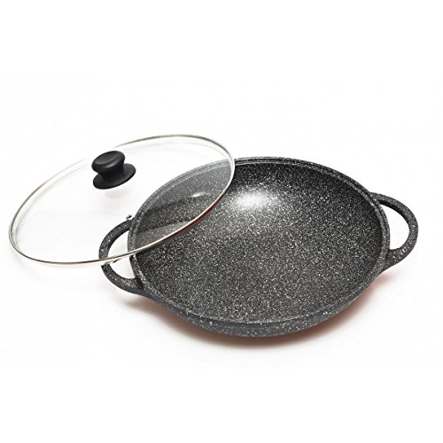 Wok 32 cm Pierre Induction -
