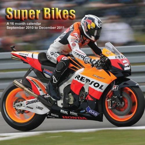 Super Bikes 2011 Calendar MGTRA03