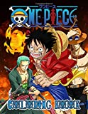 One Piece Coloring Book: Kids And Adults Coloring Book. Great For Relaxation And Inspiration With High Quality Hand-Drawn Images