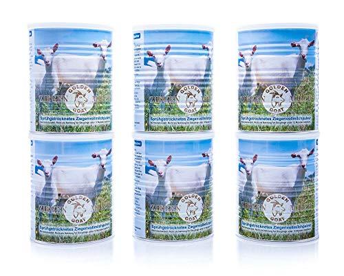 Golden Goat Ziegenmilch Pulver 400 g - 6 Stück