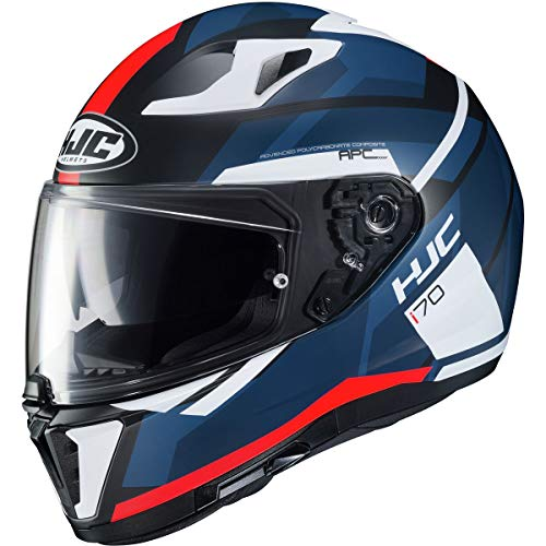 HJC i70 Helmet - Elim (Medium) (RED/White/Blue)