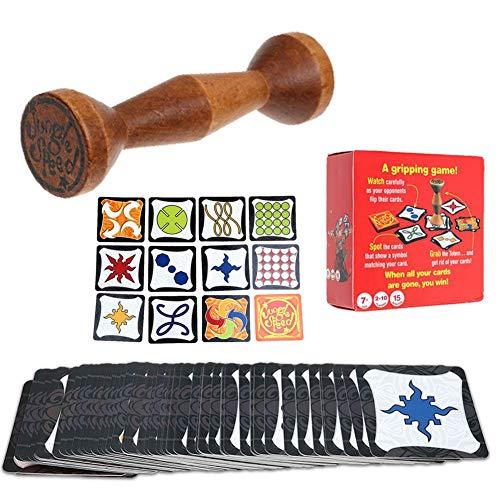 Outtybrave Jungle Speed Spiel Karten für Party Familie Spaß Greifkarten – Run Fast Board Game Card Toys