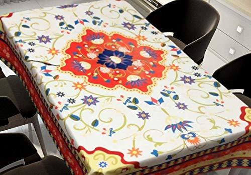 WSJIABIN Mantel Paño Simple y Moderno A Prueba de Aceite Anti-incrustante Mantel Multiusos Adecuado para Interiores y Exteriores Mantel Rectangular Mantel Resistente a Las Manchas 140x180cm