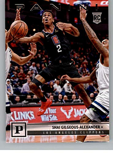 2018-19 Chronicles Basketball #113 Shai Gilgeous-Alexander Los Angeles Clippers Official NBA Trading Card From Panini America Rookie Card RC
