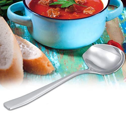 Cuchara para rociar salsa de acero inoxidable con cuchara Cuchara de azúcar Cuchara Utensilio de cocina