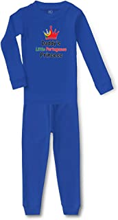 Daddy's Little Portuguese Princess Cotton Sleepwear Pajama 2 Pcs Set