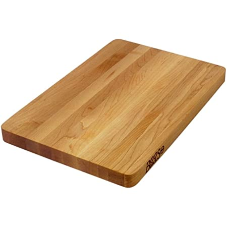 John Boos Block Chop-N-Slice Maple Wood Edge Grain Reversible Cutting Board, 16 Inches x 10 Inches x 1 Inches