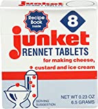For rennet custard and ice cream Designed with the consumer in mind. Fast dispersing tablets not sweetened or flavored Sugar-free desserts, delicious, dairy Free