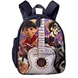 Coco Keyart Guitar Taro Child Dog Cartoon Mochilas para niños Mochilas Escolares para niños y...