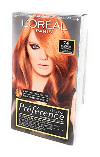 L'Oreal Paris Feria Preference 74 Mango Haar Farbe