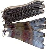 BeIilan 1 Bolsa de 0,6 mm / 0,8 mm / 1,0 mm / 1,2 mm de Pesca de Metal láminas de Plomo Sinker Thin Rollo Suministros de Pesca
