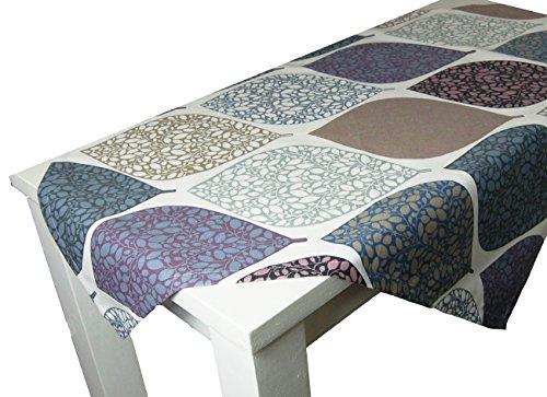 """beties """"Momente"""" Mitteldecke ca. 80x80 cm Tischdecke in interessanter Größenauswahl hochwertig & angenehm 100% Baumwolle Farbe (Hortensie)"""