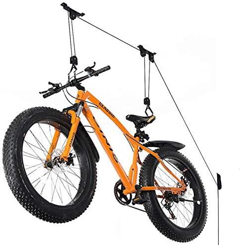 Wallmaster Bike Ceiling Mount Lift Hoist Hanger Storage Rack for Garage Indoor product image