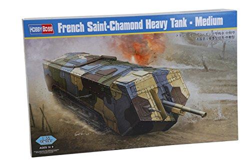 Hobby Boss 083859 – Modèle en Plastique Kit, 1/35 Saint Chamond Char