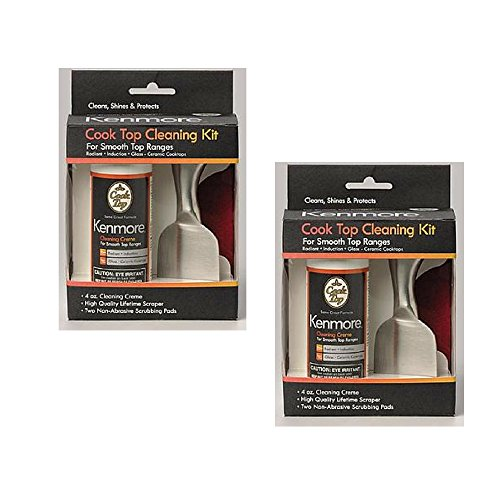 Kenmore 3-Piece Cooktop Cleaning Kit (Pack of 2)