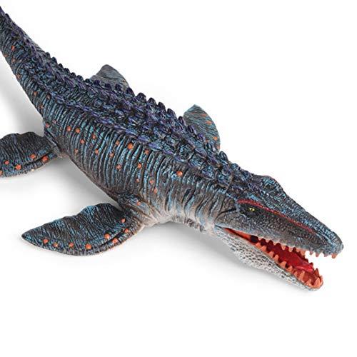 N/Z Mosasaurus Spielzeug, Realistische Tier Figuren Dinosaurier, Lange Weiche Dinosaurier Modell Mit Zähnen, Tolles Geschenk Für Jungen Und Mädchen