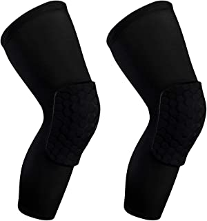 HTB Basketball Knee Pads for Kids Adults,Knee Compression Sleeve for Men Women,Soft Knee Pads for Volleyball Wrestling