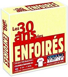 Les 30 Ans Des Enfoires 1989 2019 (CD+DVD)