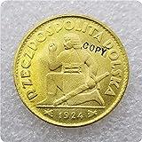 XININ COPIA REPLICA 1924-Polonia-Polonia-Polonia-Polonia-Polonia-Polonia-Polonia-Polonia-50-zlotych COPIA COIN