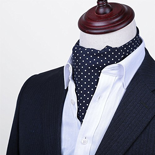 LIANGJUN Krawatte Krawattenschal Seidenkrawatte Aus Baumwolle Männer Elegent Hemd Schal Formelle Anlässe Büro Hochzeit, 128X16cm, 6 Arten Verfügbar (Farbe : 3#)