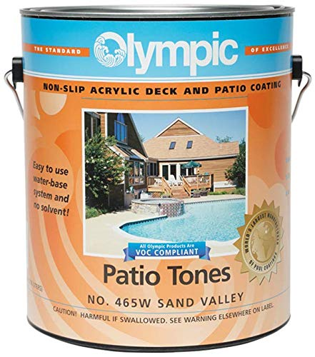 Olympic Patio Tones Deck Coating - Sand Valley - 12 Pack