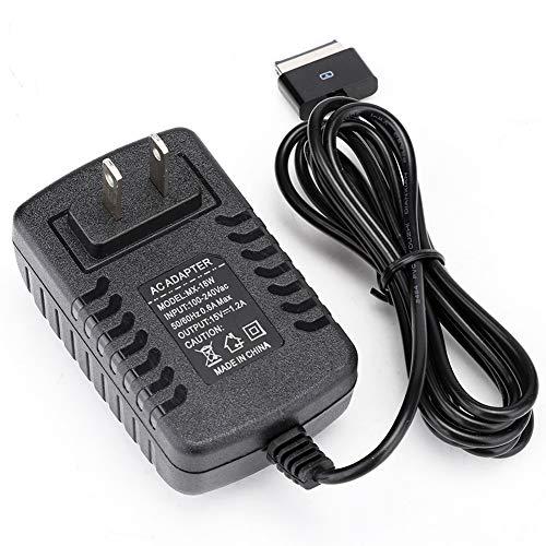 Adaptador de Corriente, Adaptador de Corriente para Tableta para A-s-u-s EEE Pad Transformer TF201 TF101 TF300 TF300T TF700 TF700T SL101(Negro)