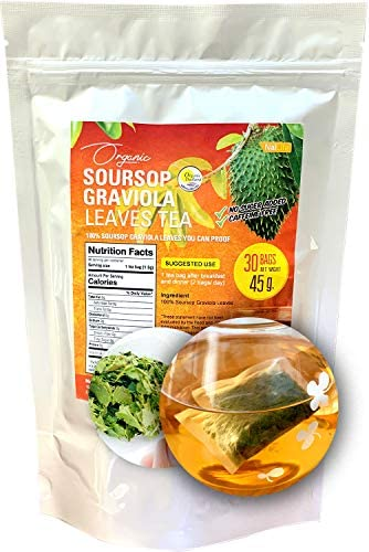 Soursop Graviola Leaves Tea 30 Bags Organic Tea product image