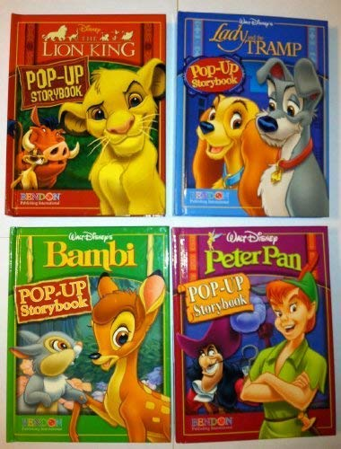 Disney Pop-up Storybook Classic Collection (Land and the Tramp / Peter Pan / Bambi / The Lion King) (Disney Pop-up)