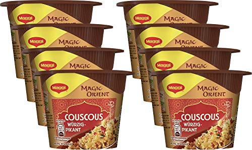 Maggi Magic Orient Terrine Couscous Würzig-Pikant, 8er Pack (8 x 70 g)