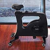 FLEXISPOT Home Office Standing Desk Exercise Bike Height Adjustable Cycle - Deskcise Pro (Without desktop Black)