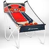 Arcade Basketball Games (Online Battle & Challenge, Shoot Hoops) - Electronic Basketball Arcade Games, Dual Shot / Blue