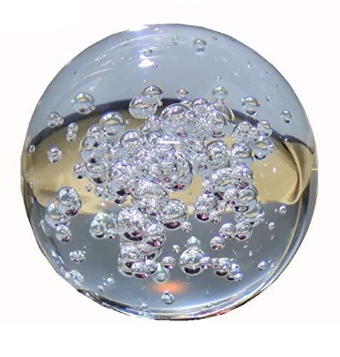 Transparente Blase Kristallkugel Glas Runde Brunnen K9 Kristall Bubble Glaskugel 8 Cm Kugeleinrichtungs-Rockery-Dekorative Geschenke